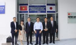 Trung tâm Đào tạo Khu Công nghệ cao hân hạnh được tiếp đoàn Thống đốc tỉnh Aichi, Nhật Bản